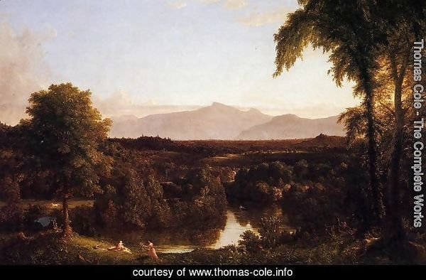View on the Catskill - Early Autumn