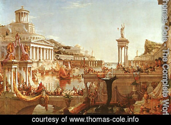 Thomas Cole - The Course of the Empire: The Consummation
