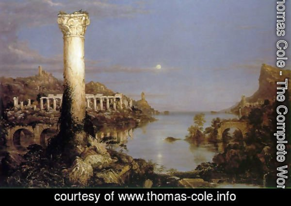 Thomas Cole - The Course of the Empire: Desolation