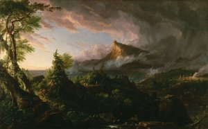 Thomas Cole - The Course of the Empire: The Savage State