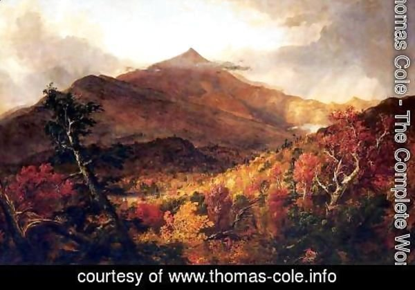 Thomas Cole - Schroon Mountain, Adirondacks