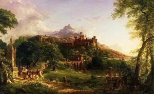 Thomas Cole - The Departure