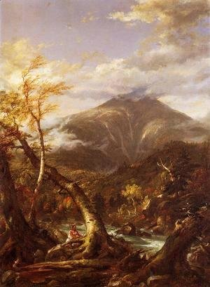Thomas Cole - Indian Pass - Tahawus
