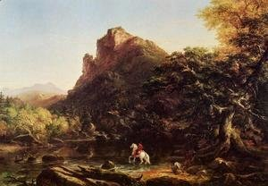 Thomas Cole - The Mountain Ford