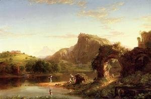 Thomas Cole - L'Allegro (Italian Sunset)