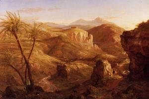Thomas Cole - The Vale and Temple of Segesta, Sicily