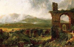 Thomas Cole - A View near Tivoli (Morning)