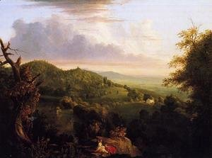 Thomas Cole - View of Monte Video, Seat of Daniel Wadsworth, Esq.