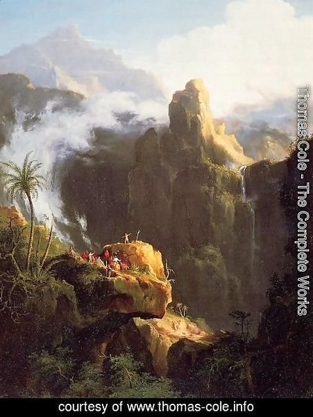 Thomas Cole - Landscape Composition: Saint John in the Wilderness