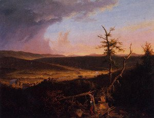 Thomas Cole - View on the Schoharie