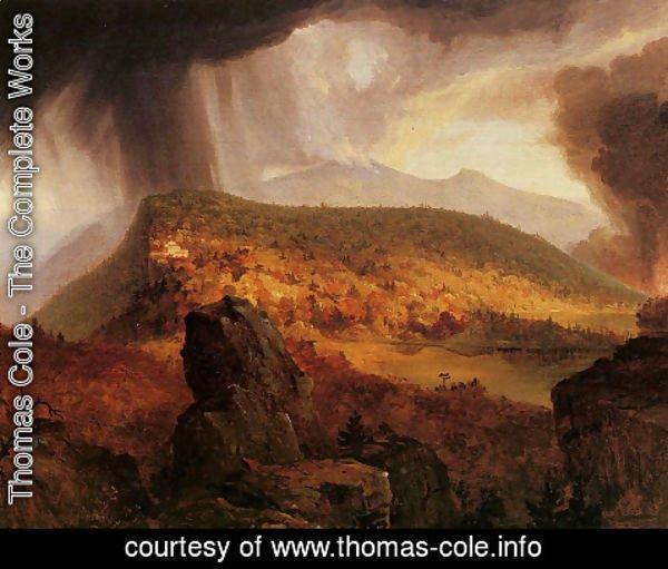 Thomas Cole - Catskill Mountain House: The Four Elements
