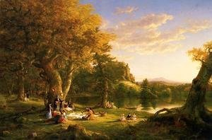 Thomas Cole - The Picnic   1846