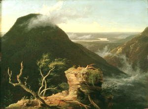 Thomas Cole - View of the Round-Top in the Catskill Mountains, 1827