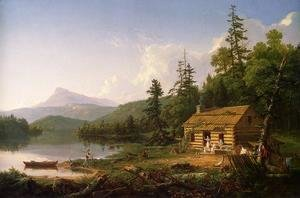 Thomas Cole - Home in the Woods, 1847
