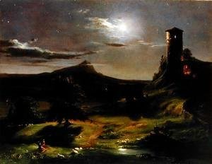 Landscape (Moonlight), c.1833-34