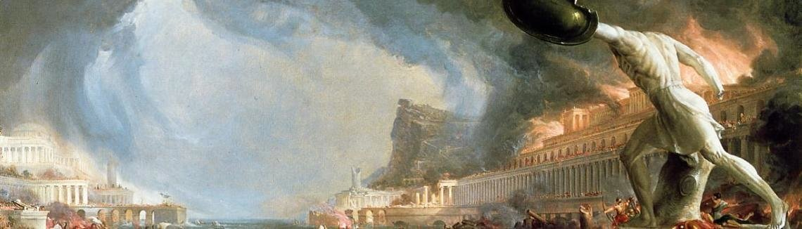 Thomas Cole - The Course of Empire: Destruction, 1836