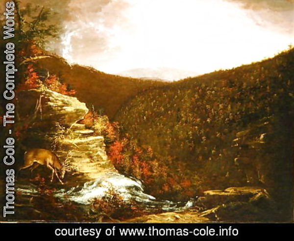 Thomas Cole - From the Top of Kaaterskill Falls, 1826