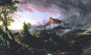 Thomas Cole - The Course of Empire The Savage State 1833-36