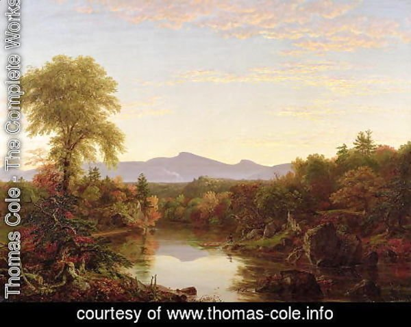 Thomas Cole - Catskill Creek, New York, 1845