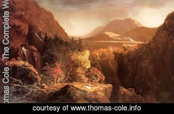Thomas Cole - Landscape with Figures: A Scene from 'The Last of the Mohicans'