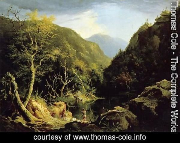 Thomas Cole - Autumn in the Catskills
