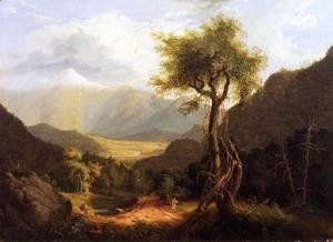 Thomas Cole - View in the White Mountains I