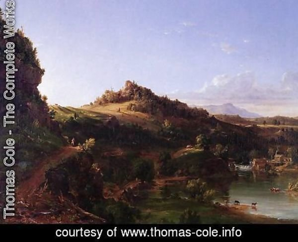 Thomas Cole - Catskill Scenery