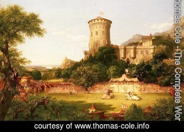 Thomas Cole - The Past
