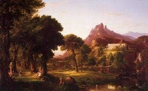 Thomas Cole - Dream of Arcadia