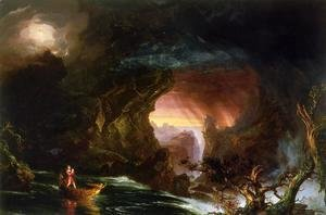 Thomas Cole - The Voyage of Life: Manhood
