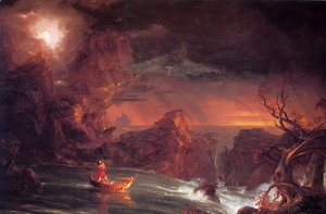 Thomas Cole - The Voyage of Life: Manhood I
