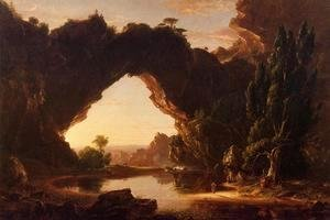 Thomas Cole - An Evening in Arcadia