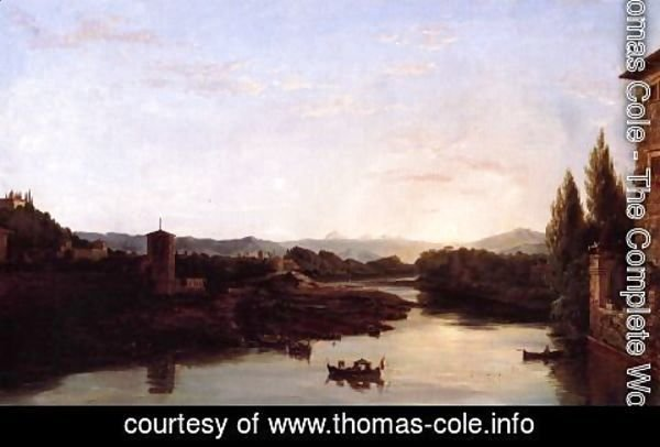 Thomas Cole - View of the Arno