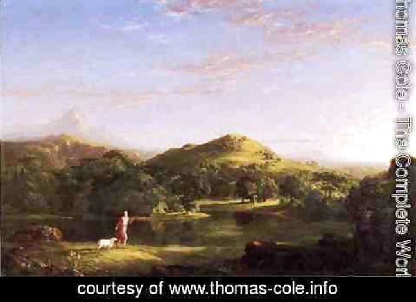 Thomas Cole - The Good Shepherd