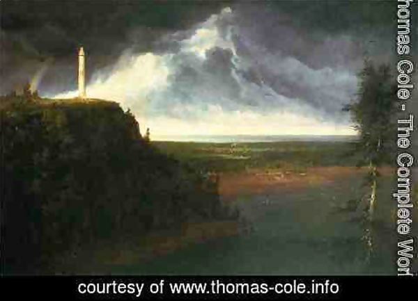 Thomas Cole - Brock's Monument
