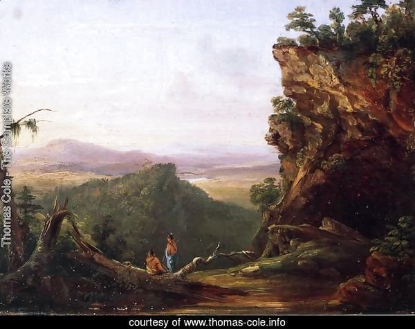 Indians Viewing Landscape