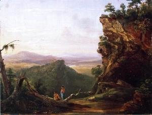Thomas Cole - Indians Viewing Landscape