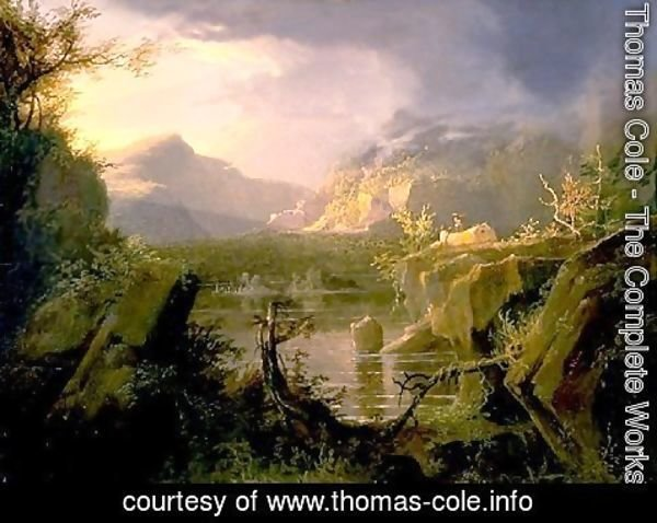 Thomas Cole - Romantic Landscape