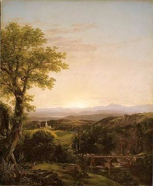 Thomas Cole - New England Scenery