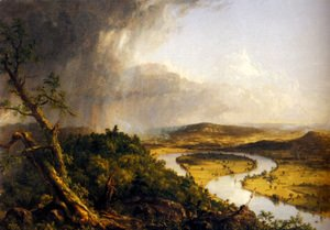 Thomas Cole - The Connecticut River near Northampton
