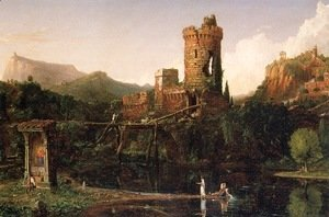 Thomas Cole - Landscape Composition, Italian Scenery