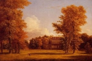 Thomas Cole - Van Rensselaer Manor House