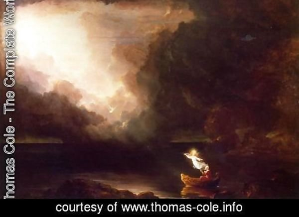 Thomas Cole - The Voyage of Life, Old Age