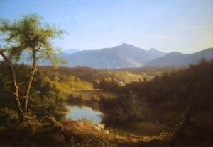 Thomas Cole - View Near the Village of Catskill