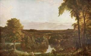 Thomas Cole - In the Catskills