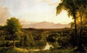 View on the Catskill Early Autumn, 1837