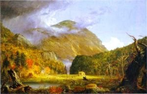 Thomas Cole - Notch of the White Mountains, 1839