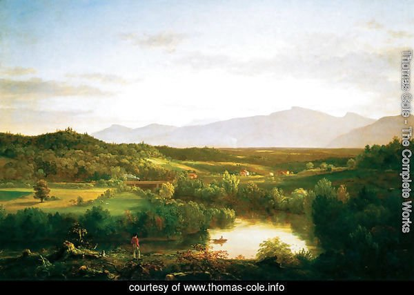 River in the Catskills, 1843