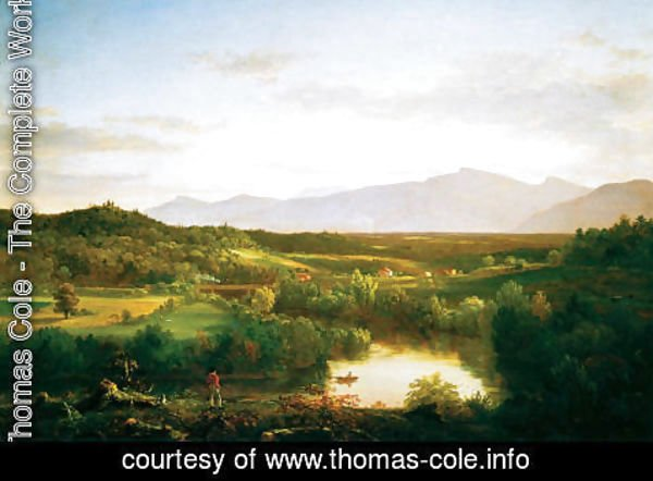 Thomas Cole - River in the Catskills, 1843