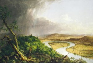 Thomas Cole - View From Mount Holyoke after a Thunderstorm, 1836